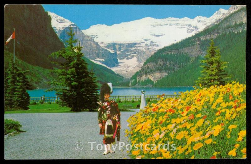 The Piper at the Chateau Lake Louise
