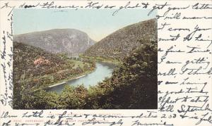 Delaware Water Gap From Winona Cliff Pannesylvania 1903