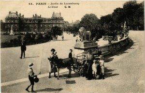 CPA PARIS 6e Jardin du Luxembourg Le Senat ed. C.M (577109)