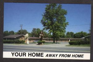 MI Your Motel Ypsilanti Michigan Postcard Carte Postale Ashok Engineer Owner