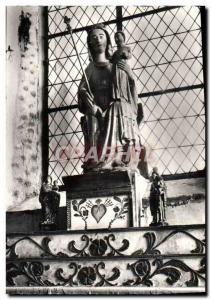 Postcard Modern Plouha Chapelle De Kermaria An Isquit Virgin