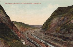 Deepest Section of the Famous 9-Mile Culebra Cut, PANAMA, 00-10's