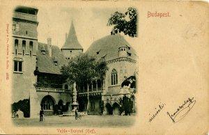 Hungary - Budapest. Vajda-Hunyad Castle