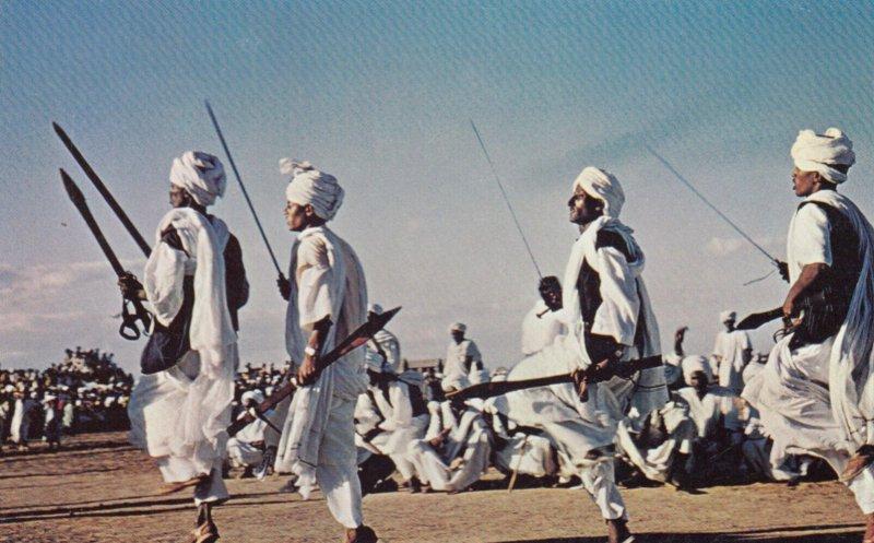 Sword Dancers , SUDAN , 50-60s