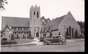 Wisconsin Fort Atkinson First Methodist Church Real Photo RPPC