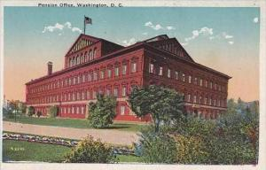 Washington DC Pension Office