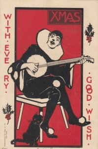 CHRISTMAS ; Singing Clown , 1904