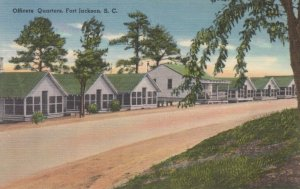 Fort Jackson , COLUMBIA, South Carolina, 30-40s ; Officer Quarters