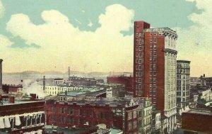 CG-005 KY Louisville Bird's Eye View of Divided Back Postcard Kentucky