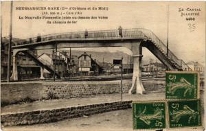 CPA NEUSSARGUES - Gare - NEUSSARGUES Gare - Le Nouvelle Passerelle (480384)
