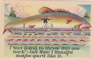 Fishing Humour I Was Going To Throw This One Back