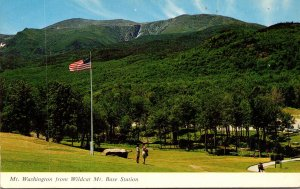 New Hamshire Jackson Pinkham Notch Mt Washington From Wildcat Mt Base Station...
