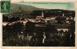 CPA CHAZAY-d'AZERGUES vu ge prise des Bruyeres (462524)
