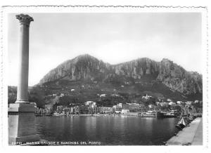Italy Capri Marina Grande Banchina del Porto Quay Glossy Photo 4X6 Postcard