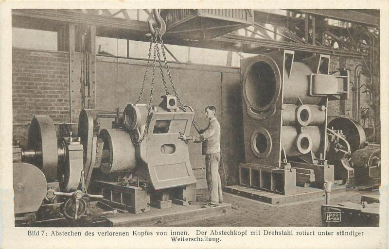 Trains manufactory Germany Industry rotary steel of rotary sub-circuit machine