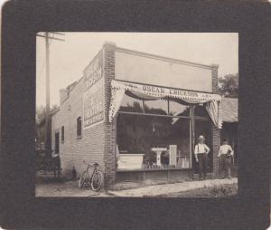 RP: Oscar Erickson Plumbing & Heating Supply Store , MOLINE , Illinois , 1907