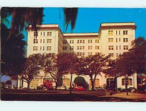 Unused Pre-1980 OLD CARS & FORT SUMTER HOTEL Charleston South Carolina SC Q4030