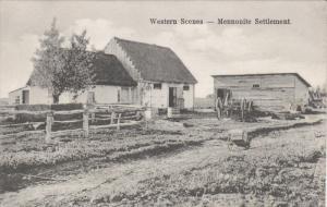MANITOBA, Canada; Western Scenes - Mennonite Settlement, 00-10s
