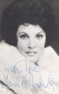 Moira Anderson Hand Signed Photo