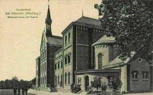 Jordanbad bei Biberach Wurttbg. Schwesternhaus mit Kapelle Chapel Postcard