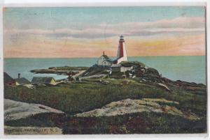 Lighthouse, The Cape, Yarmouth NS / Tuck's 2659