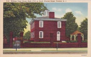 William Trent House Built 1719 On South Warren Street Trenton New Jersey