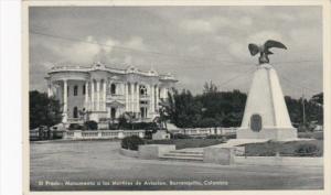Colombia Barranquilla El Prado Monumento a los Martires de Aviacion Real Photo