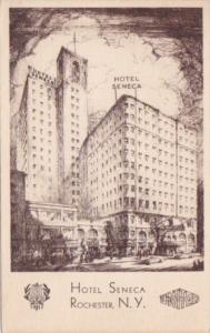 New York Rochester Hotel Seneca 1946