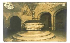 RP, Bautizterio, Ex-Convento, Actopan Hgo., Mexico, 1920-1940s