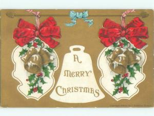 Divided-Back CHRISTMAS SCENE Great Postcard W9446