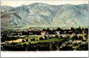 1900s Pasadena, California Postcard Mt. Lowe from San Rafael Heights Selige