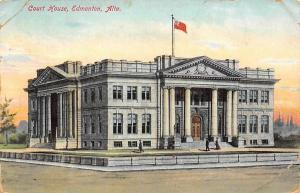 Canada Alberta, Alta, Edmonton, Court House, Law Courts Building 1911