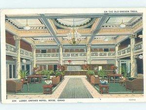 W-border HOTEL SCENE Boise Idaho ID AE2027