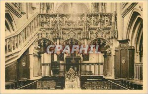Postcard Old La Douce France in Troyes (Aube) Eglise Sainte Madeleine XII S)
