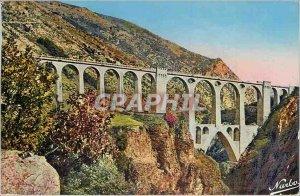 Postcard Old Bridge Sejourne (Cerdagne Francaise)