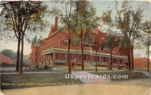 Home for Aged Couples Utica NY 1910