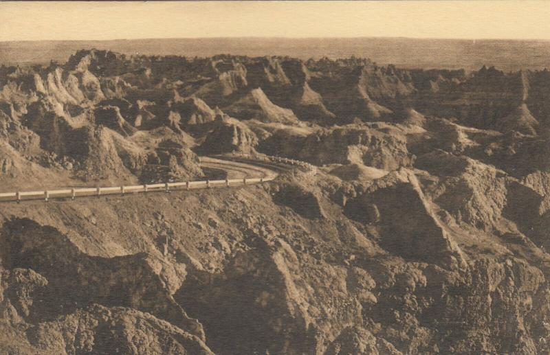 WALL, South Dakota, 1920-40s; East Side of Pinnacles, Badlands National Monument