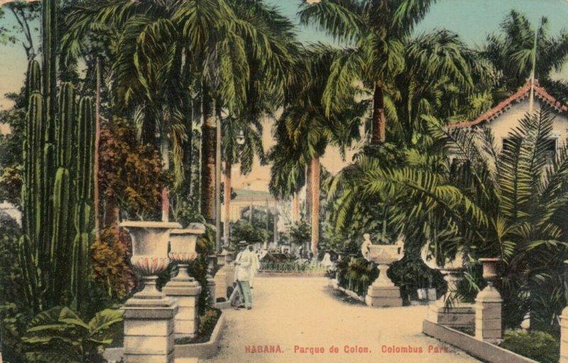 HAVANA , Cuba, 1914; Columbus Park