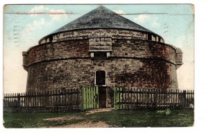 Martello Tower, Halifax, Nova Scotia, Used 1908