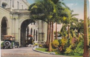Panama Main Drive Entrance Hotel Washington 1923