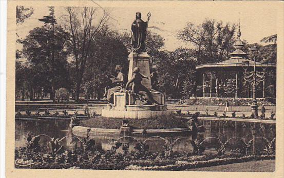 France Toulouse Monument Clemence Isaure et Jardin du Grand ...