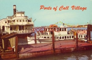 PORTS OF CALL VILLAGE, SAN PEDRO, CA. Permanently berthed, the Sierra Nevada