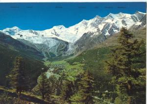 Switzerland, Saas Fee 1800m. Wallis. unused Postcard