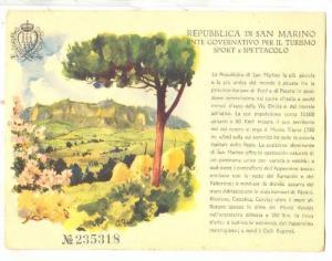 AS, Scene, Repubblica Di San Marino, Entre Governativo Per Il Turismo, Sport ...