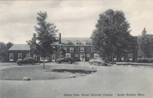Massachusetts South Hadley Abbey Hall Mount Holyorke College Albertype