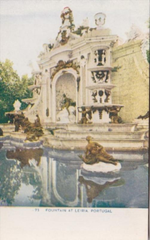 Portugal Leiria The Fountain