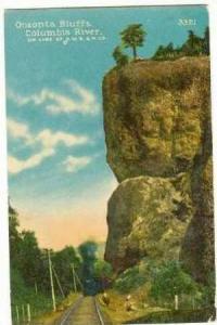 Oneonta Bluffs, Columbia River, Spokane, Washington, 00-10s