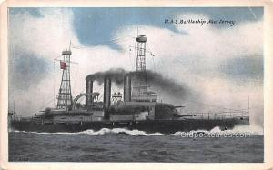 USS Battleship New Jersey Military Battleship Unused