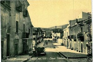 03344  CARTOLINA d'Epoca: FOGGIA - PIETRA MONTECORVINO