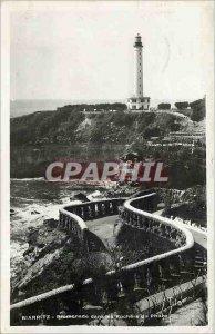 Modern Postcard Biarritz Walk the Rocks Pharo